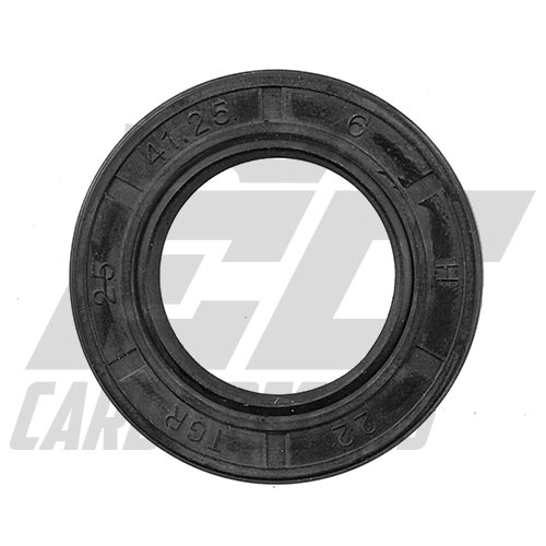 168F-11014-A GX200 Clone Crankcase Oil Seal Black 2-Pack