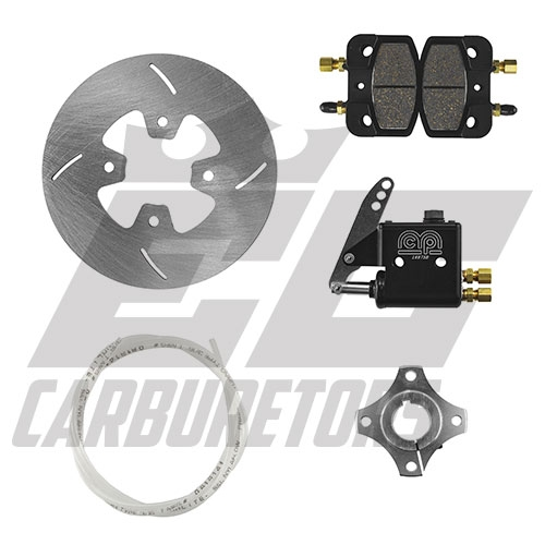 "7250B MCP Billet 1.25"" Standard Brake Kit w/7.125 Rotor"