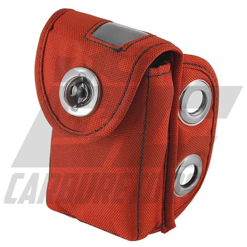 670-74 Red Karting Transponder Pouch - Clip Version
