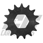 4089 #40 15 tooth Quick Change Sprocket