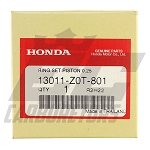 13011-Z0T-801 OEM Honda .025 Over Rings