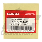 13013-Z0T-801 OEM Honda .75 Over Rings