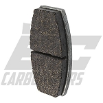 1383B MCP Standard Brake Pads (sold per side)