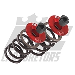 266-55-22 EC 5.5mm Billet Aluminum Retainers with 22lbs Valve Springs