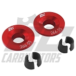 266-55 EC Billet Aluminum Retainers for 5.5mm Valve Stems