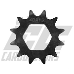 4086 #40 12tooth Quick Change Sprocket