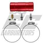 707R Red Aluminum Oil Catch Can