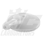 91A-251 Tillotson White Fuel Inlet/Strainer Cover