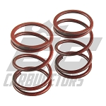 DCS-BSH-D Red Stripe 10.8lbs GX200 Clone Valves Springs