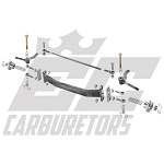 "AROLFB-6 42"" Outlaw Drop Front Axle Using Front Brakes and 6.50"