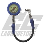 56-022 QuickCar 20 Psi Glow Tire Air Gauge
