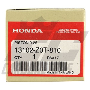 13102-Z0T-810 OEM Honda Flat Top +.25mm Piston 68mm Bore