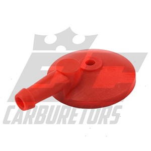91A-351R EC HI-Flow Red Fuel Inlet/Strainer Cover