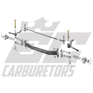"AROLNB-8 42"" Outlaw Drop Front Axle Using No Front Brakes and 8.25"