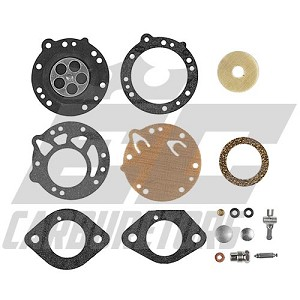 P3-RK EC Pro Rebuild Kit for Standard Volume(Single Stack)Carburetors Captured .093""