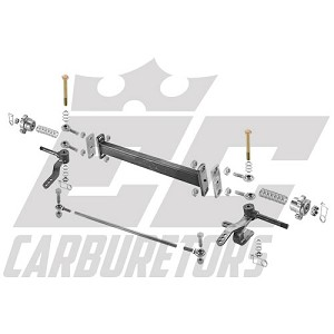 "ARSDNB-6 42"" Standard Front Axle Using No Front Brakes and 6.50"