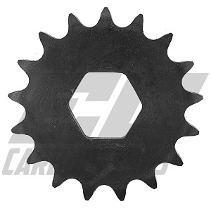 4091 #40 17 Tooth Quick Change Sprocket